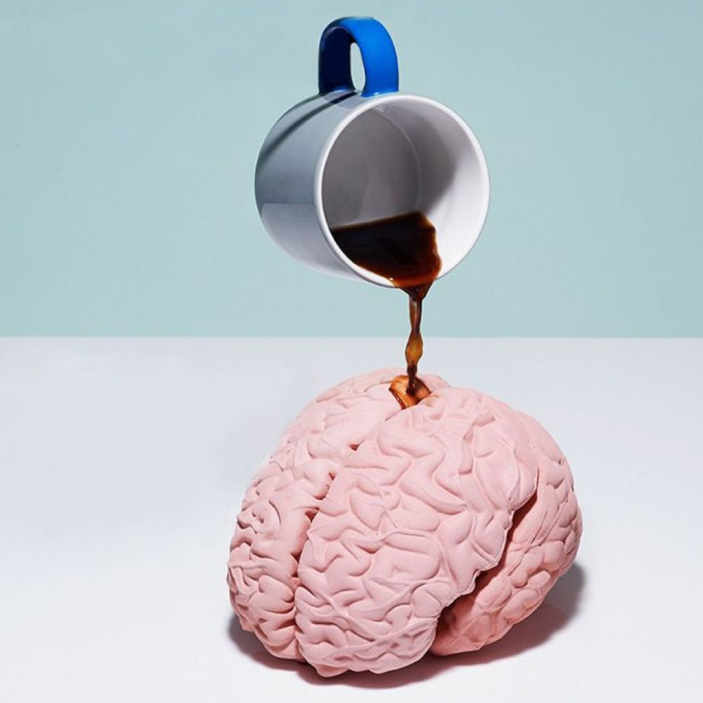perfect coffee has the perfect effect on the brain