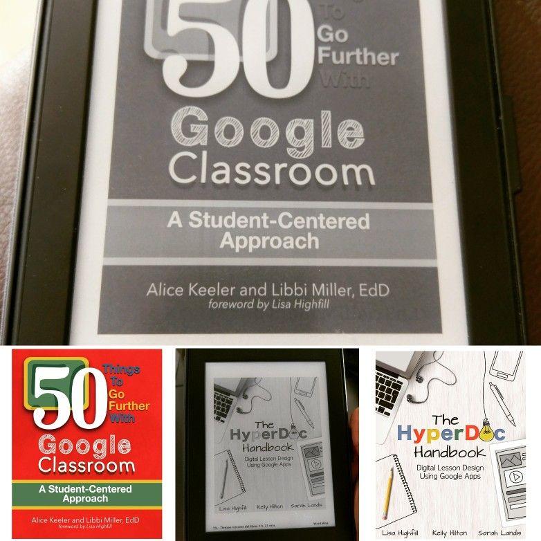 Literatura y preparativos finales para invertir la clase usando Google Apps. Textos recomendados para quiénes deseen aprovechar las bondades de los HyperDocs (hiperdocumentos) y sus enormes posibilidades en educación usando la Suite de Google for Education. #HyperDocs #GSuite #GoogleClassroom #GoogleApps #GSuite #Kindle