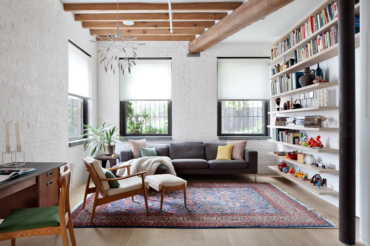 59 Green Home New Living Room Apartment Design