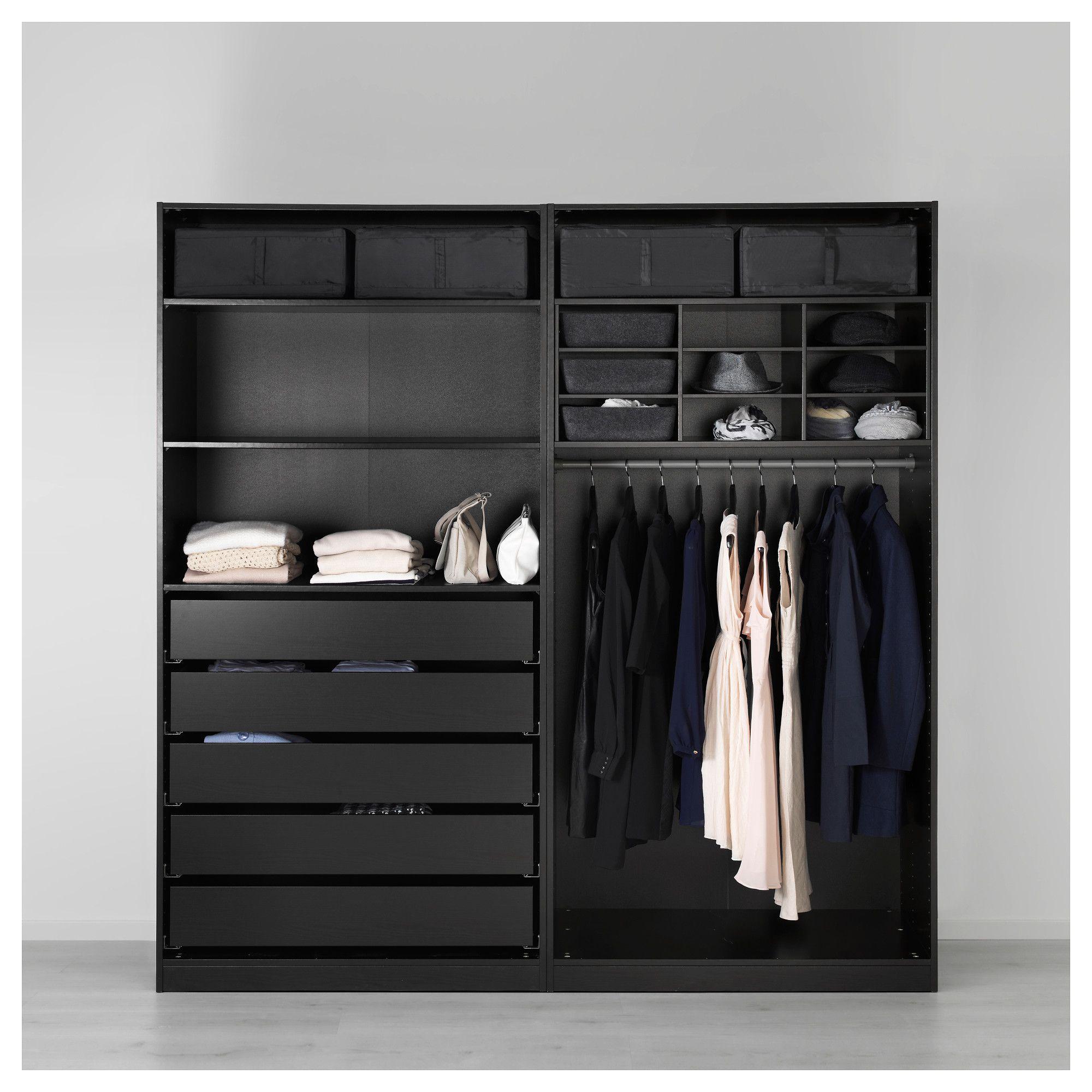 IKEA SKUBB Storage case black Closet designs, Pax