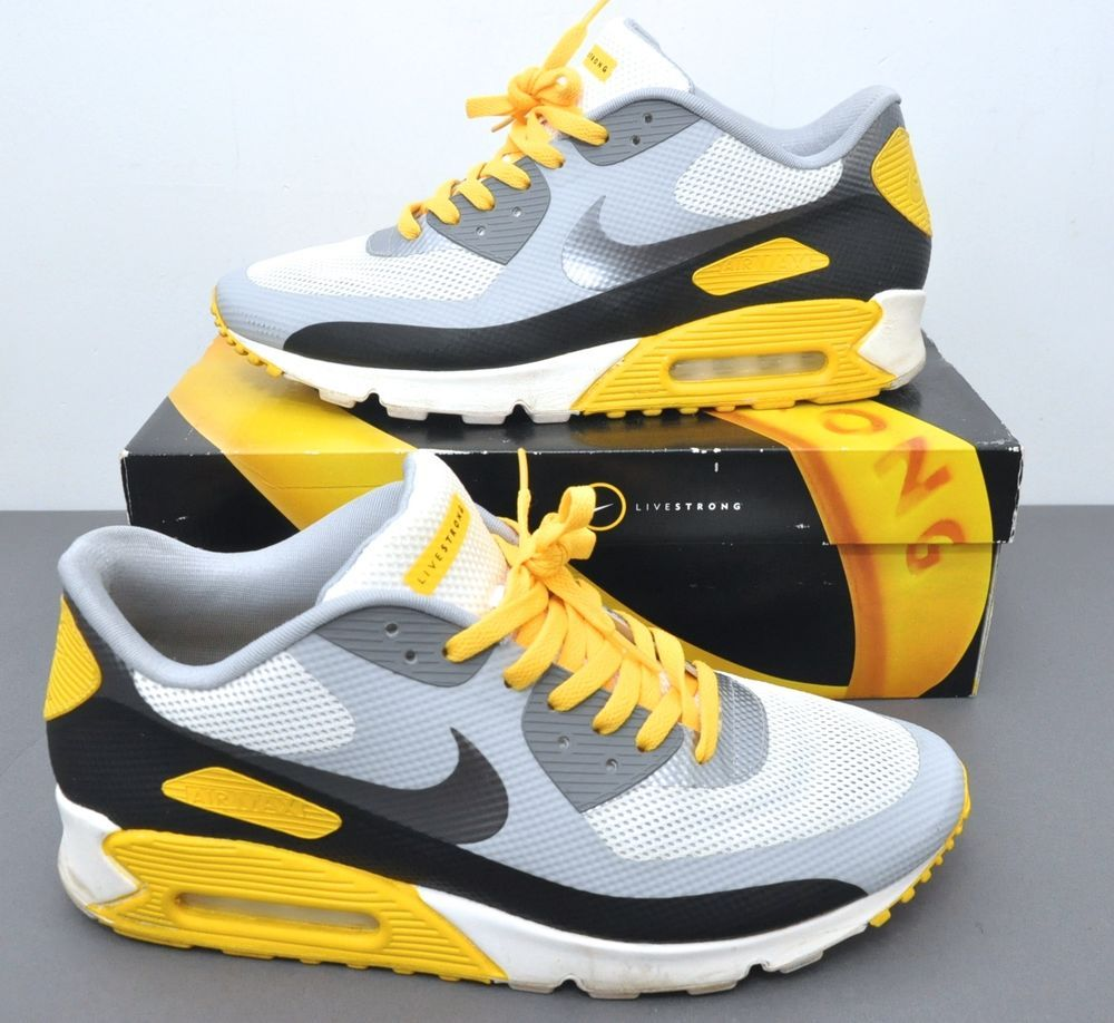 Details about NIKE Air Max 90 Hyperfuse LAF sz 13 Livestrong