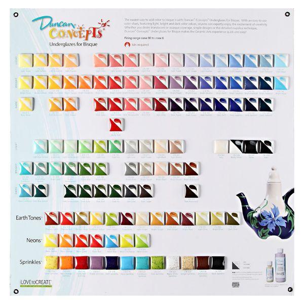 Duncan Glaze Color Chart Google Search Glazes Ceramics