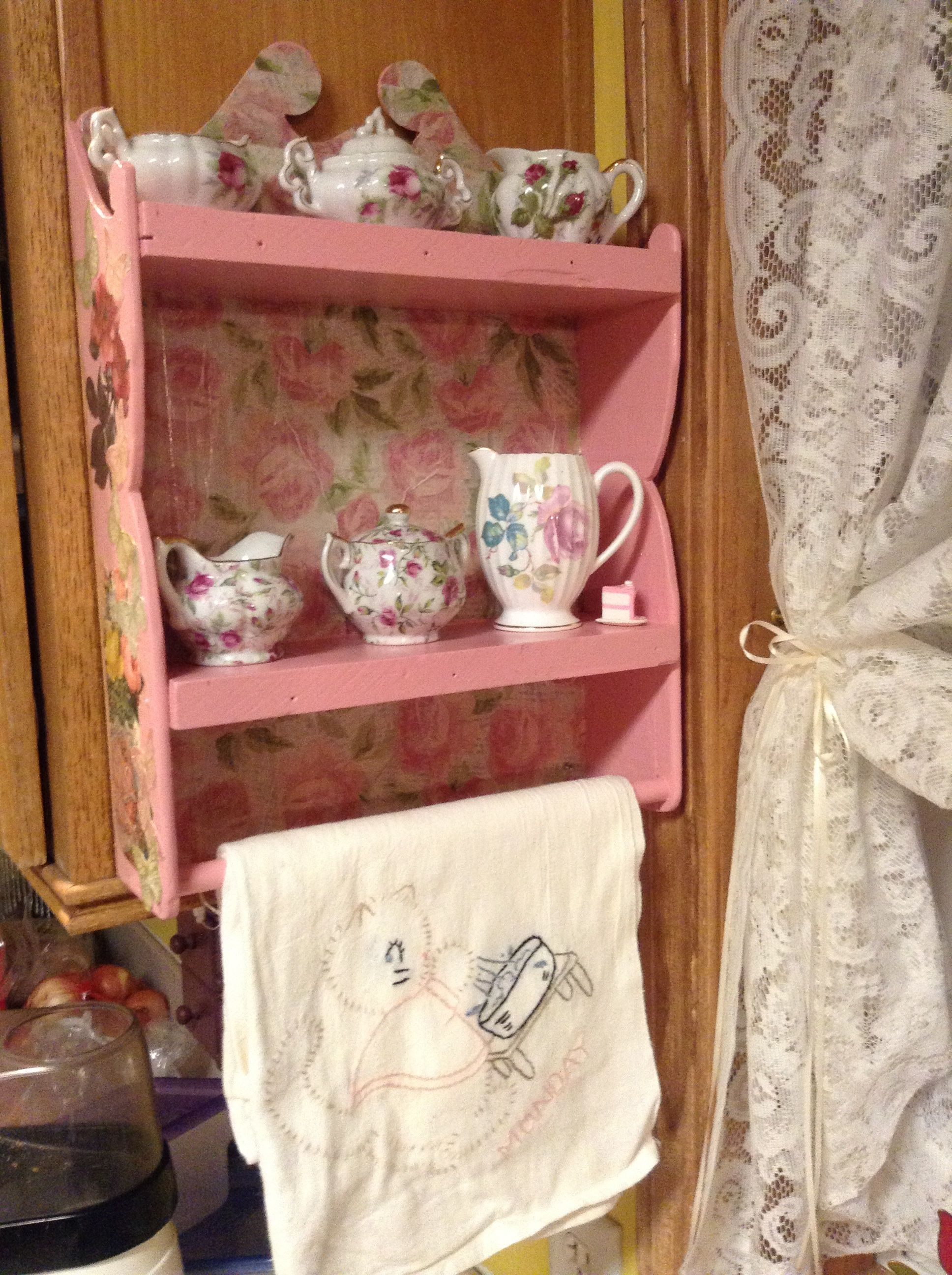 My special little tiny cabinet <3