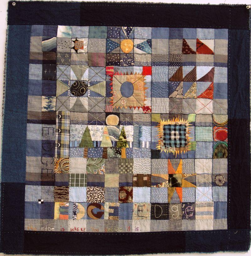 Jude Hill / Spirit Cloth textile art