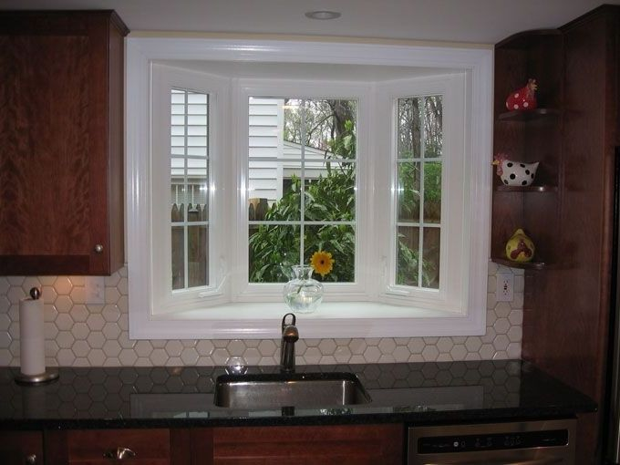 Small Bay Window Above Kitchen Sink Kitchen Sink Window Kitchen Bay Window Kitchen Sink Remodel
