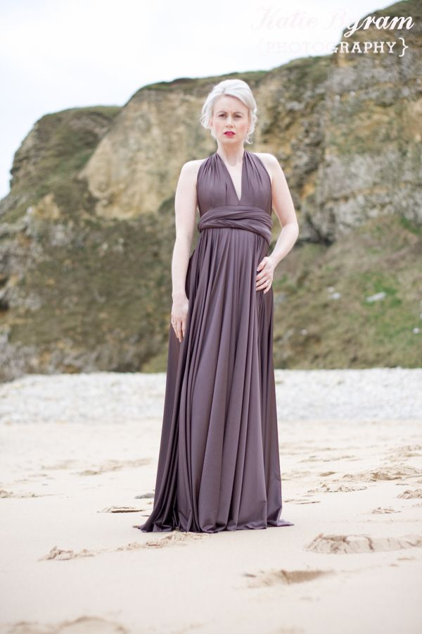 Marsden Grotto Photoshoot South Shields, two birds bridesmaid dress ...