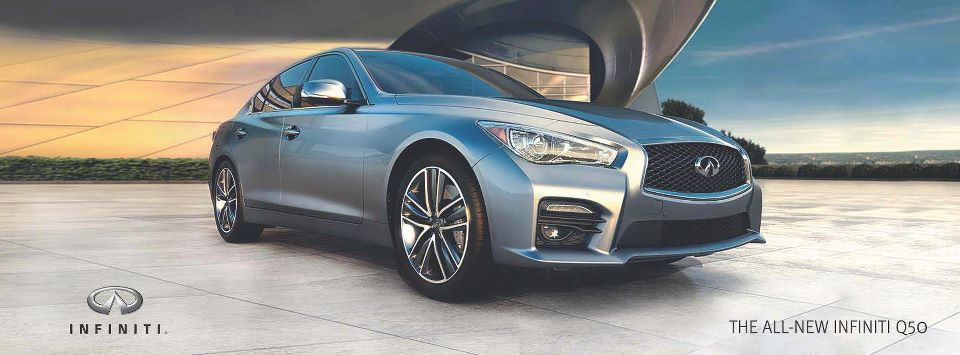The new Infiniti Q50 Q50, Voiture