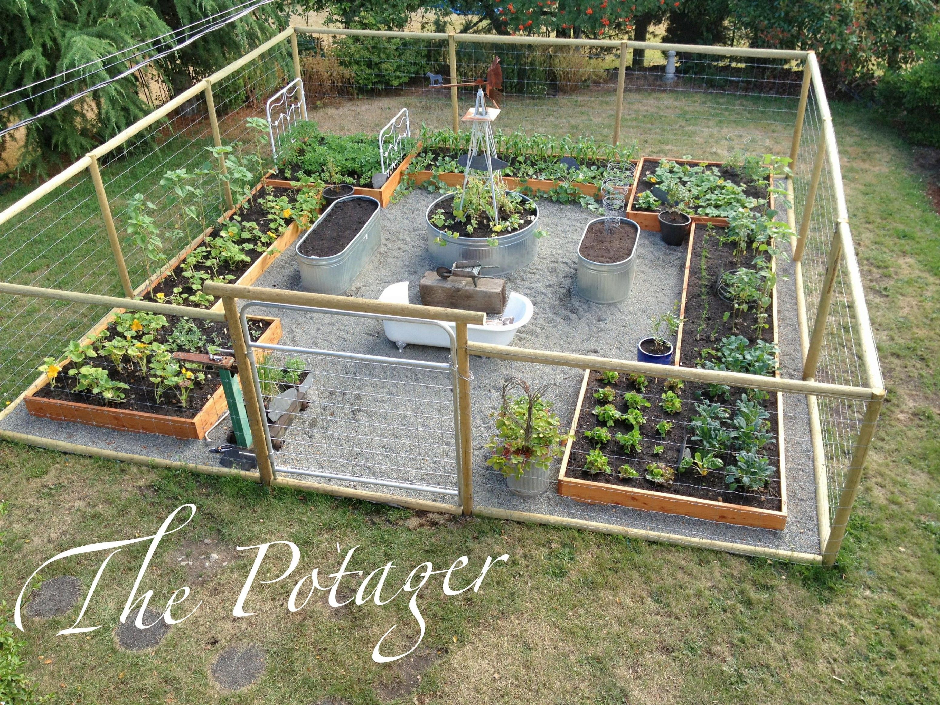 Starting Vegetable Gardening Awesome Vegetable Garden Ideas 40 Pictures Trends Ht Fenced Vegetable Garden Vegetable Garden Planning Raised Vegetable Gardens