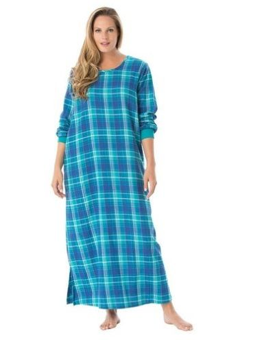 Plus Size Flannel Nightgowns For Women Cozy And Soft Me