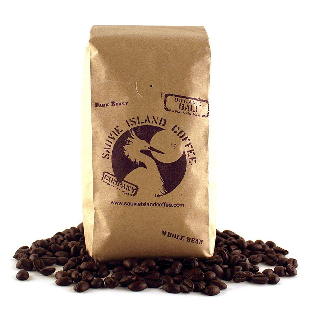 Organic bali dark roast coffee sauvie island coffee