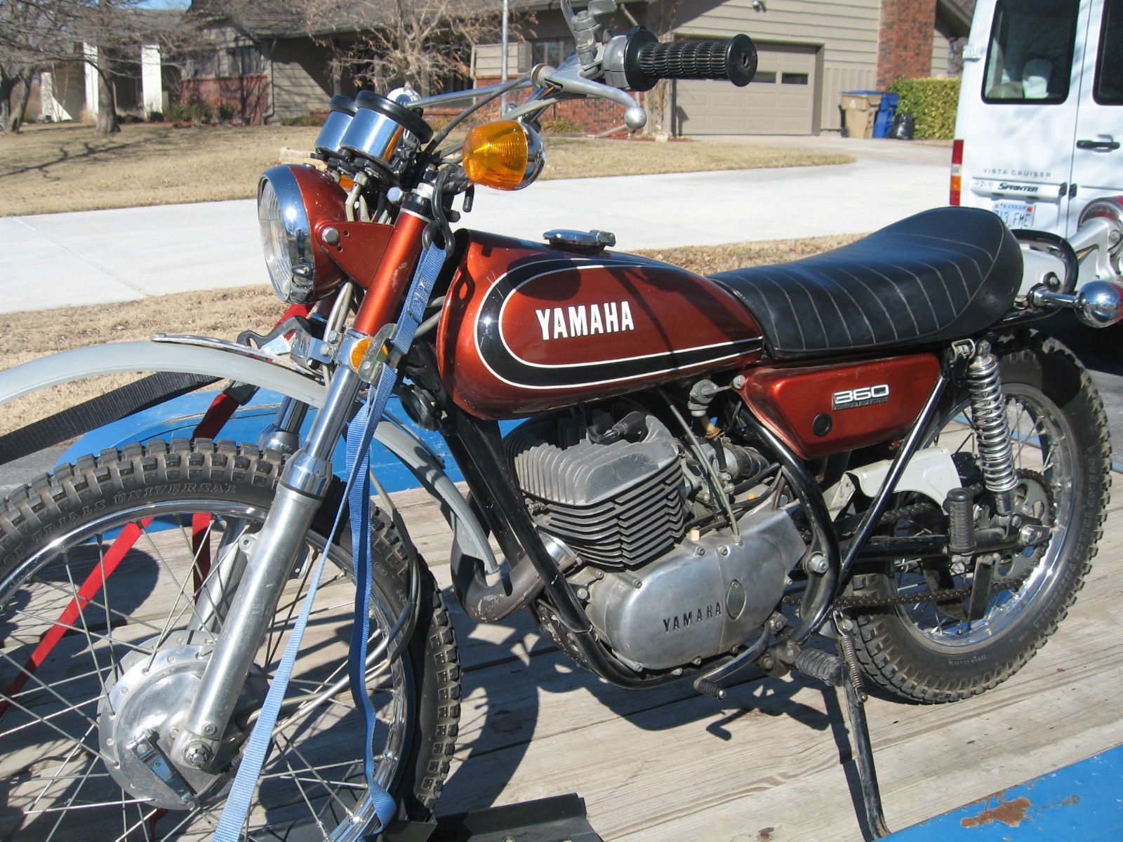1973 yamaha 360 enduro ebay vintage yamaha enduros. Black Bedroom Furniture Sets. Home Design Ideas