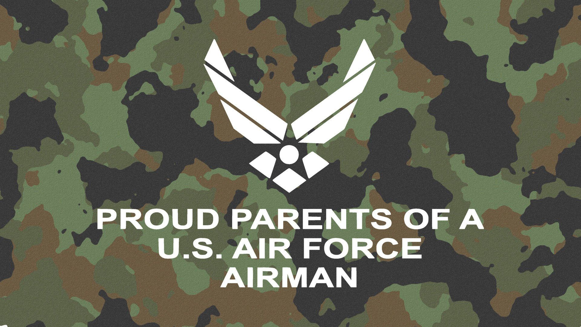 Proud Parents Of A U.S. Air Force Airman Decal Military