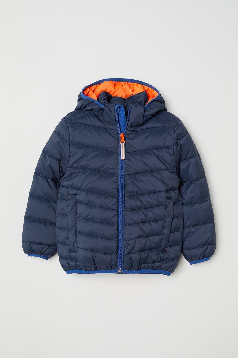 8340e753d331 Padded Lightweight Jacket