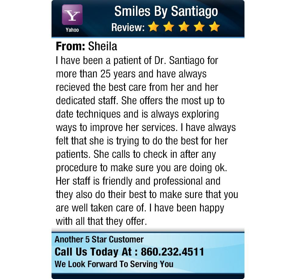 I have been a patient of Dr. Santiago for more than 25 years and have always recieved the...
