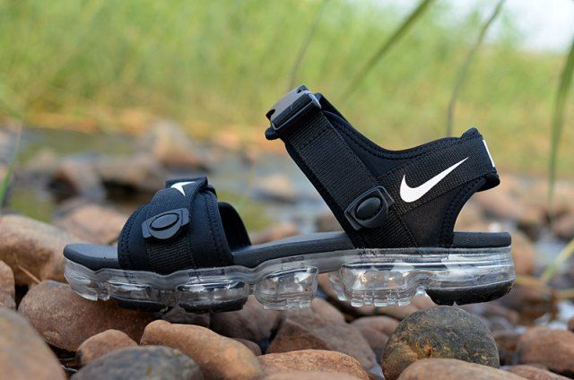 a6970563c24897 Cheap Nike Air VaporMax Black White . With a reinvented cushioning system