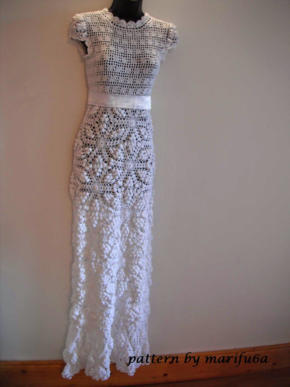 Free crochet patterns and video tutorials: HOW TO CROCHET WEDDING ...