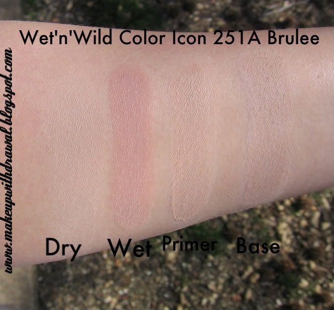 Wet N Wild Revamped Single Swatches Single Eyeshadow Wet N Wild Swatch