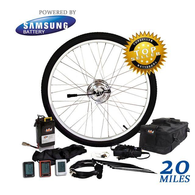 5 2 Ah Samsung 10k E Bike Kit 24 Volts 250 Watts 250 Series Electric Bike Kits E Bike Kit Electric Bike Conversion