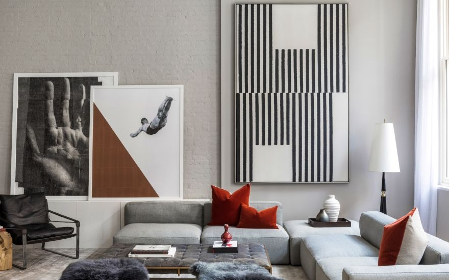 Forms of Geometric Shapes & Patterns in Interior Design ...