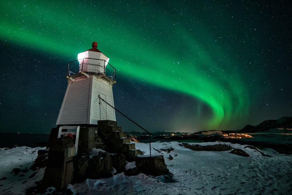 Lighthouse Aurora by Dominik Beedgen on 500px | Lighthouse ...