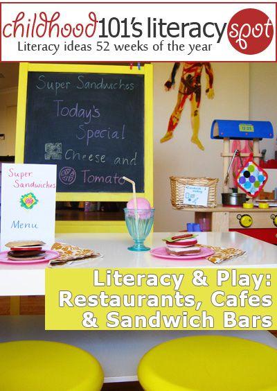 Literacy Spot 47 Restaurants Cafes And Sandwich Bars Summer