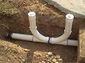 Two Way Sewer Cleanout Plumbing Diy Plumbing Sewer Line Cleaning