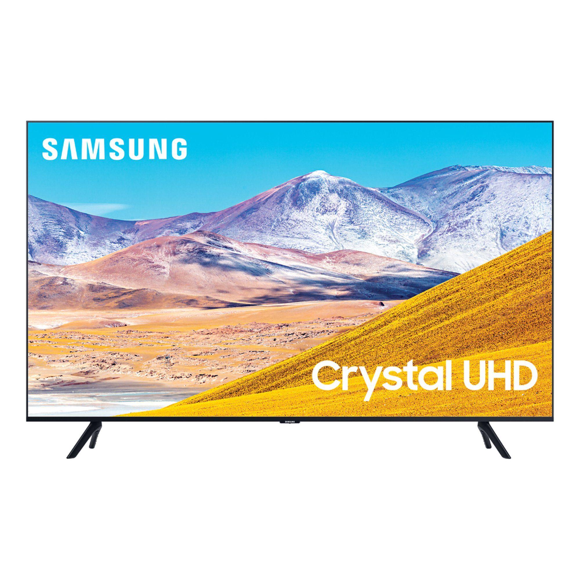 Samsung 43 Class 4k Crystal Uhd 2160p Led Smart Tv With Hdr Un43tu8200 2020 Walmart Com Smart Tv Samsung Smart Tv Samsung 85