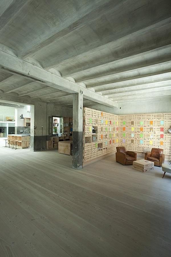 The Hub House redesign, Interior architecture design