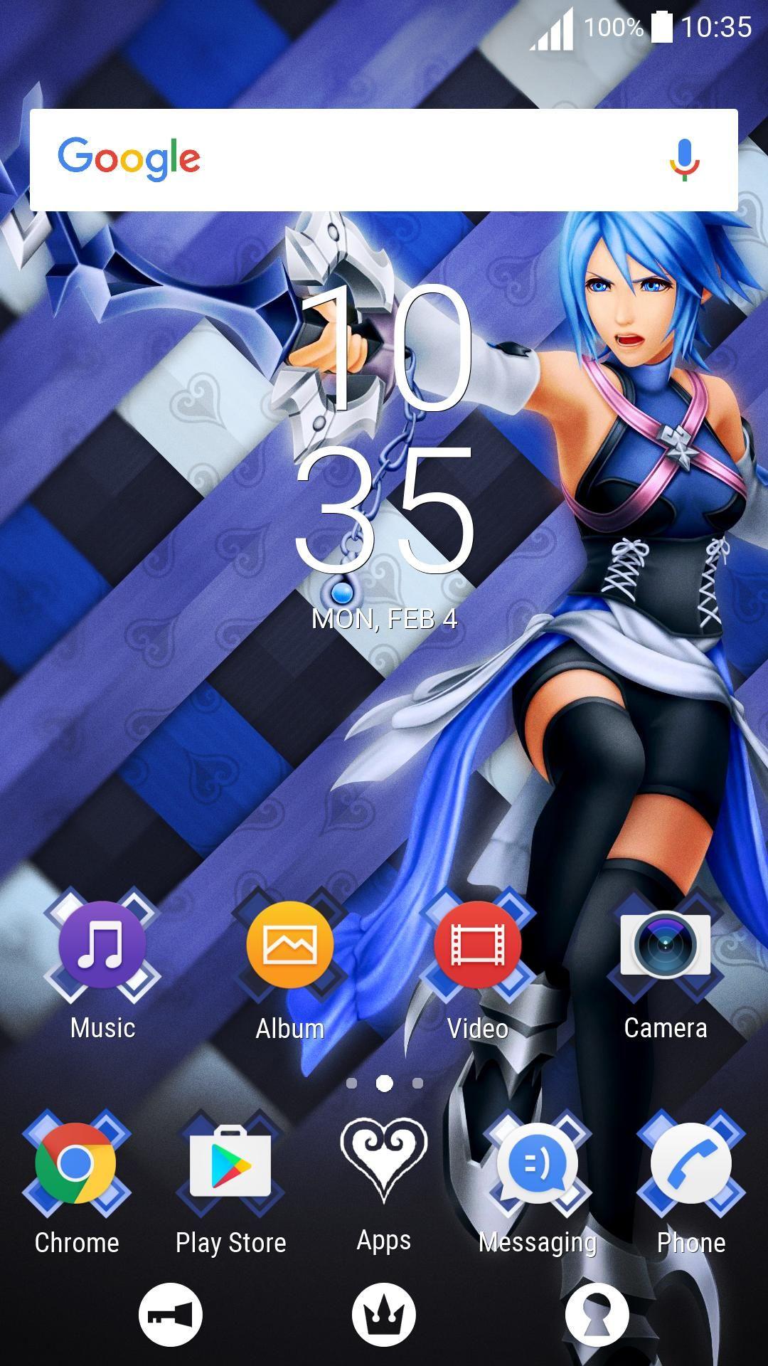 Aqua Kingdom Hearts Wallpaper Iphone in 2020 Kingdom