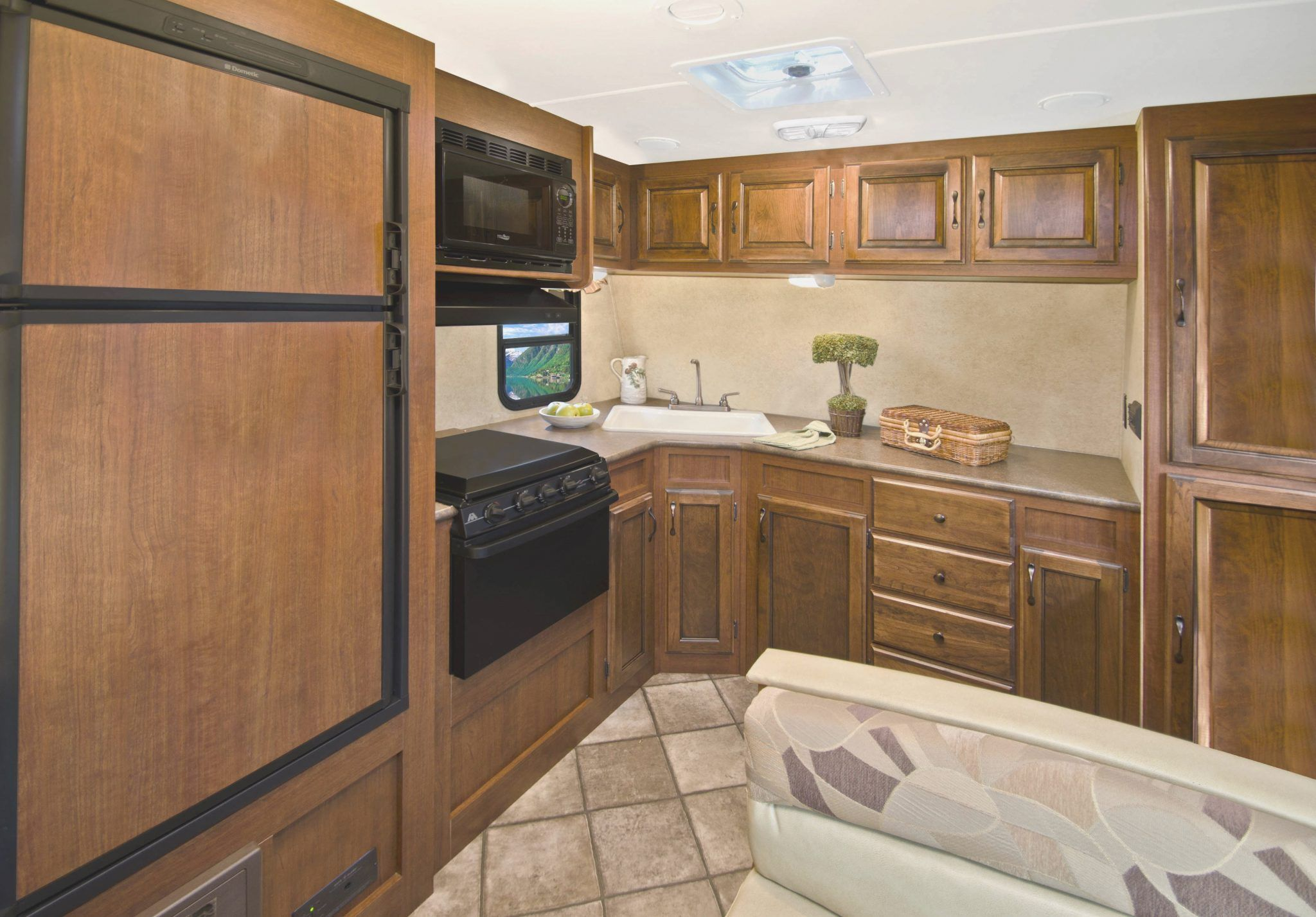 Travel Trailers With Outdoor Kitchens 22 Foot Travel Trailer