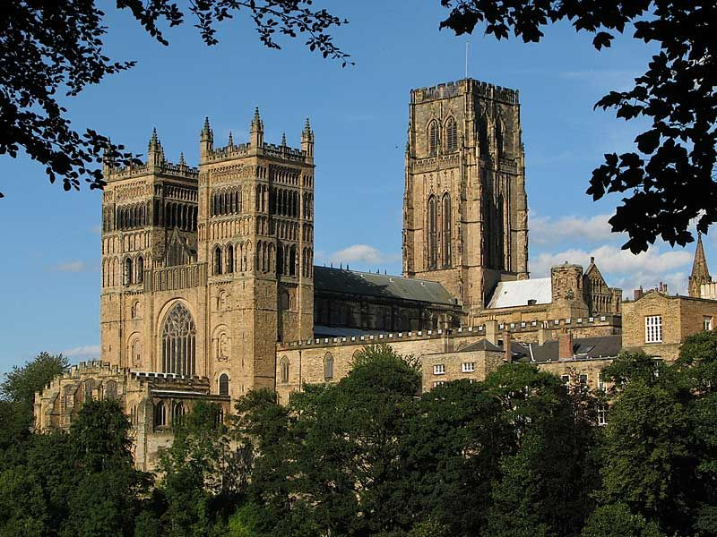 Durham Cathedral is considered a Romanesque cathedral not ...