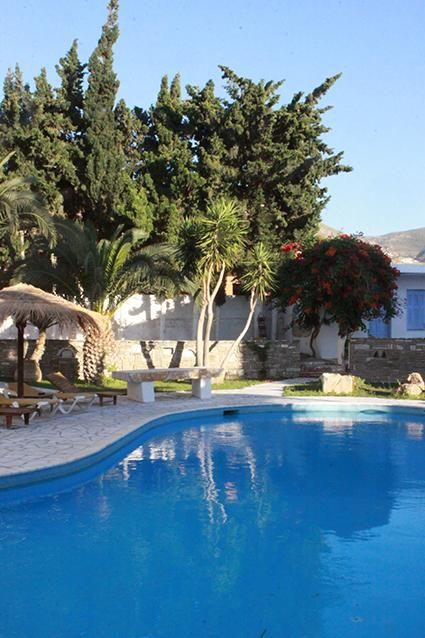 Galinos Hotel || Located in the heart of Parikia's old town, Galinos is a 7-minute walk from the beach. It features an outdoor pool and offers rooms with balconies and free public Wi-Fi.