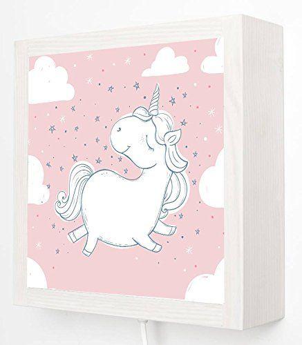 Einhorn Kinderzimmer Unicorn Kinder Wandlampe Led