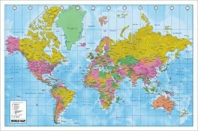 Cartina Geografica Del Mondo Fisica.Impariamo Insieme Cartina Geografica Del Mondo Geografia Mondo Geografia Mappa Del Mondo