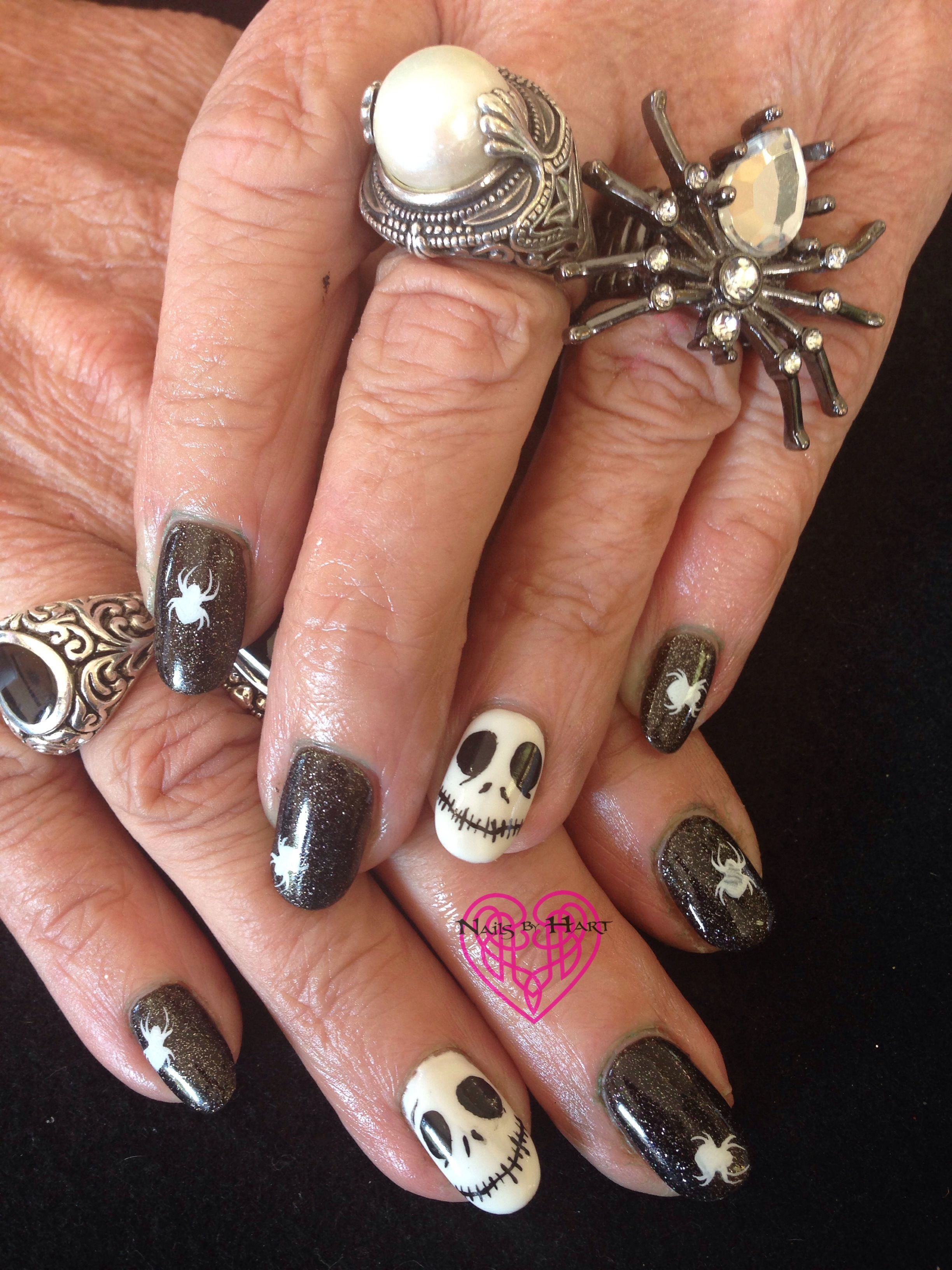 Day 304: Happy Halloween Nail Art www.nailsmag.com | You can tell ...