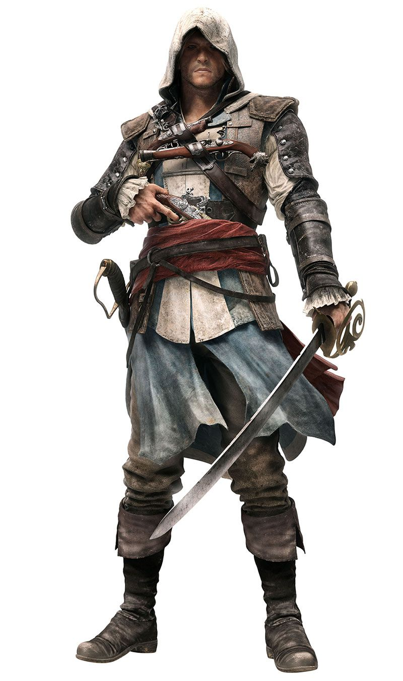Edward Kenway Pictures Characters Art Assassin S Creed Iv