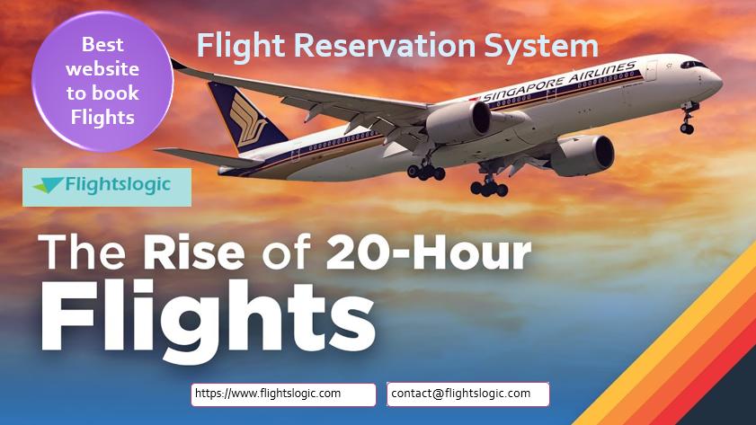 Flight Reservation System Flight Reservation Airline Reservations Flight Ticket