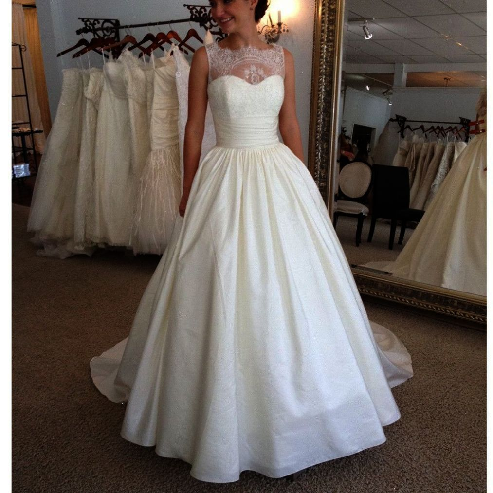 Cap sleeve lace wedding dress  Shared ueue Lace Sheath Wedding Dress With Cap Sleeves  Lace Wedding