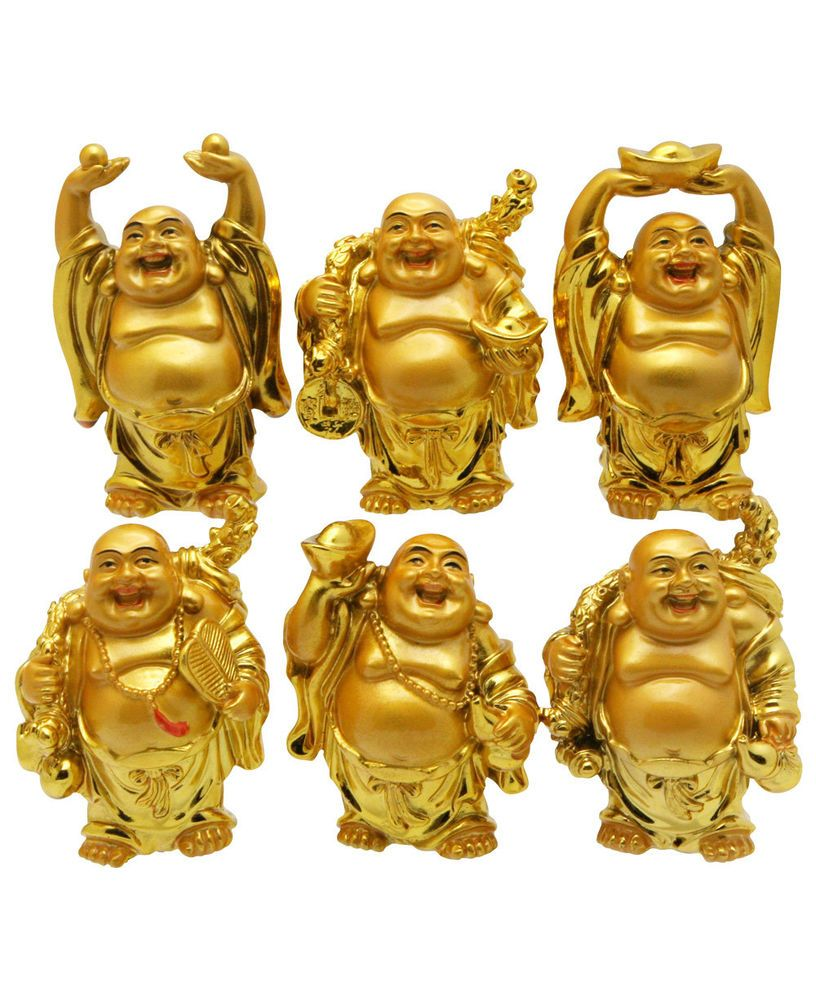 Selfless Chinese Creative Living Room Craft Ornaments Office Desk Ceramic Gifts Fortune Maitreya Buddha Furnishing Home Decorations Home & Garden