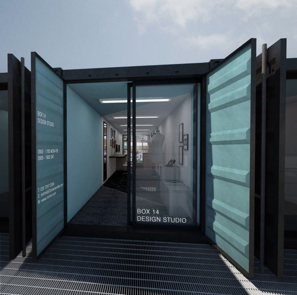 Maison Container A Vendre Construire Une Maison Container: Containerville, London's Shipping Container Office Space