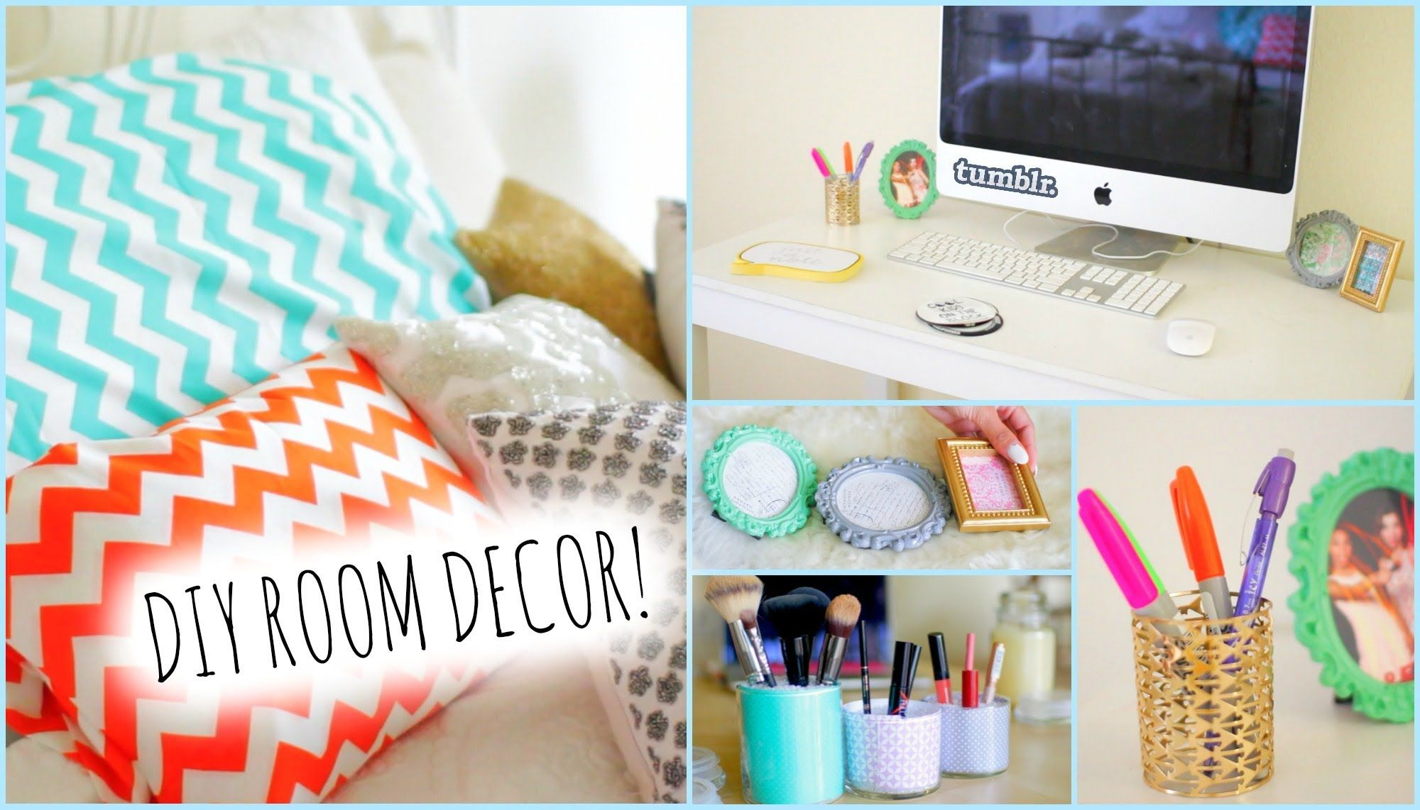 Diy bedroom decor ideas pinterest - Diy Room Decorations For Cheap How To Stay Organized