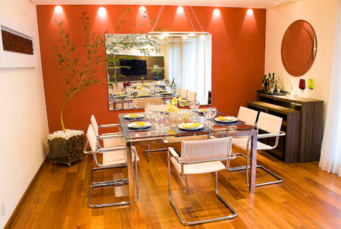 Decoracion de cocina y comedor peque o buscar con google decoraci n 01 monisima pinterest - Pintar comedor pequeno ...