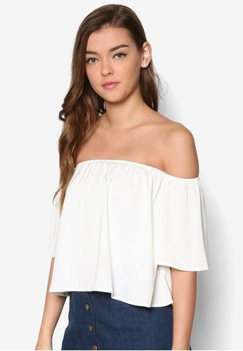 0c355db0d22d ZALORA Love Off Shoulder Top
