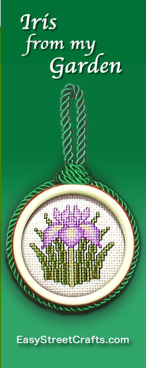 A BEAUTIFUL GARDEN IRIS -- A FAVORITE from Oriental Garden booklet ...