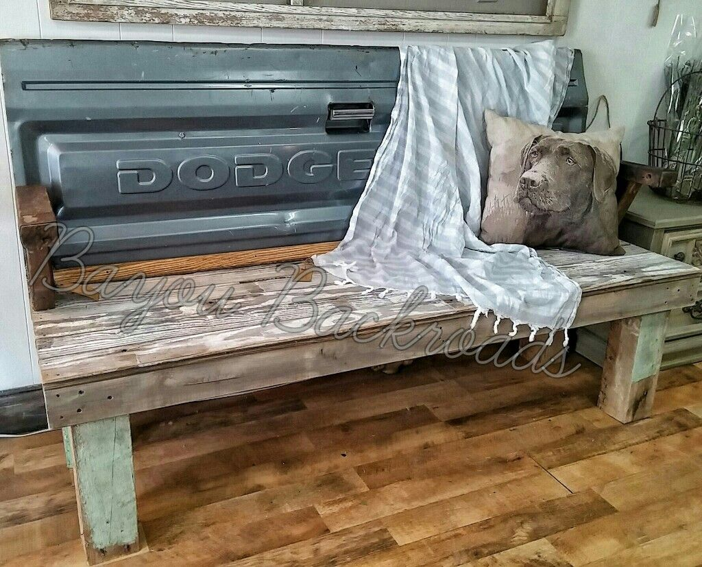 Creative Bench Ideas Part - 40: Tailgate Bench. Tailgate BenchCreative IdeasPorchBenchesDesks