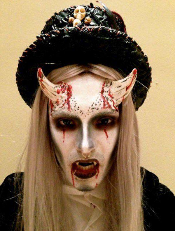 horror halloween costume for teens make up ideas halloween masks ...