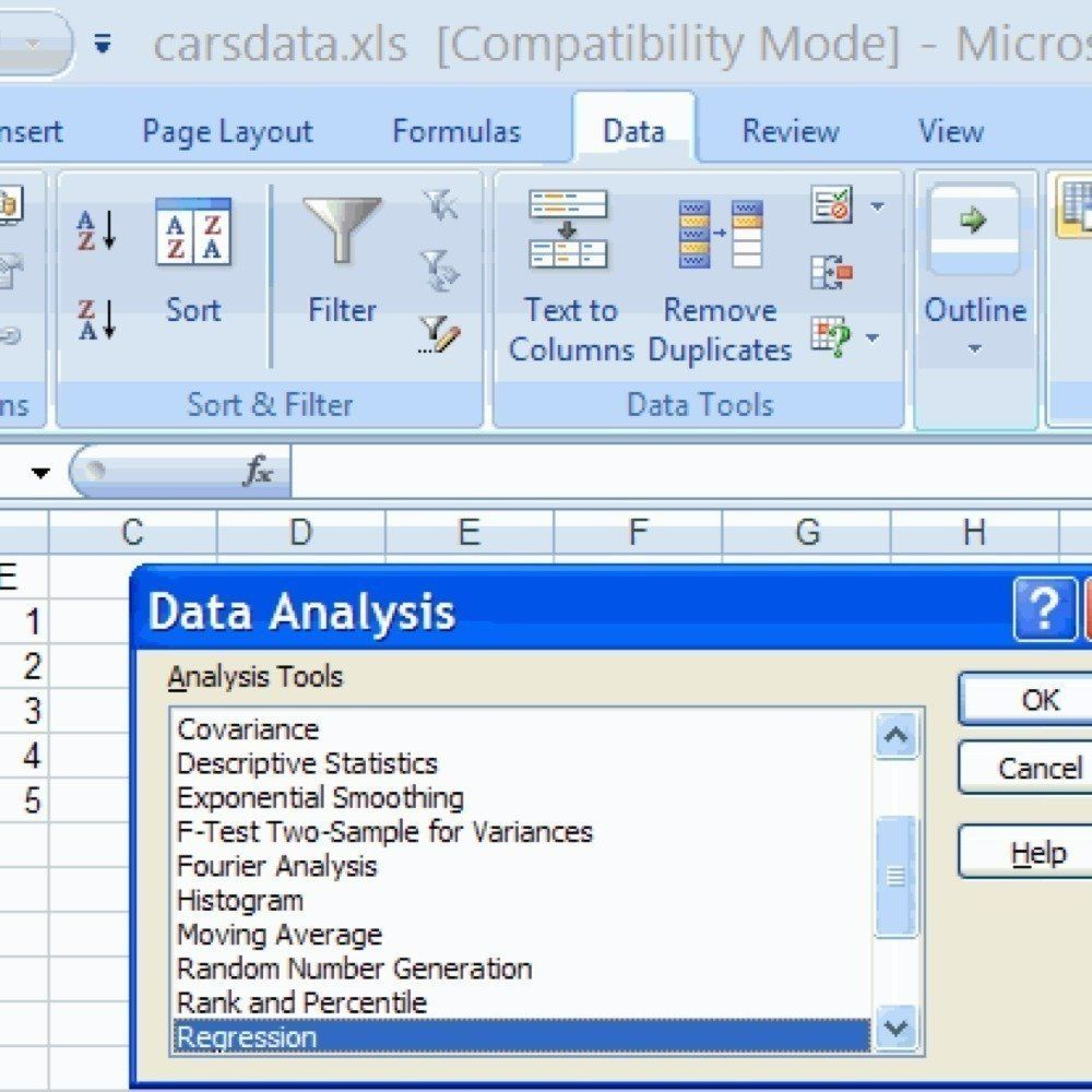 Analyze Data Using Excel Use Standard Deviation Make A Graph