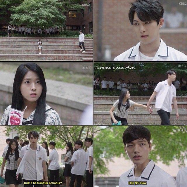 Orange Marmalade Ep10 . When the other students watch Mari drinking blood, Han Shihoo comes to the rescue . . Tags:{#OrangeMarmalade #오렌지마말레이드 #정재민 #백마리 #한시후 #여진구 #김설현 #이종현 #JungJaemin #BaekMari #HanShihoo #YeoJingoo #KimSeolhyun #LeeJonghyun #Kdrama #Koreandrama #KBS2}