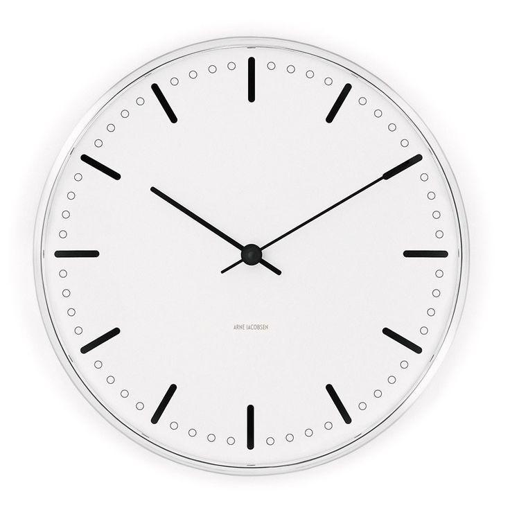 aj city hall clock design classics arne jacobsen radhus und design. Black Bedroom Furniture Sets. Home Design Ideas