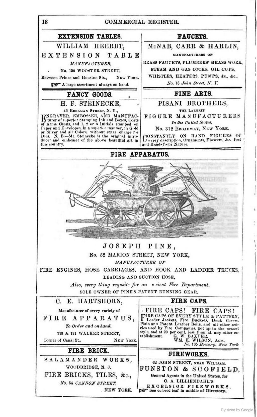 [1860]: FIRE CAPS! FIRE CAPS! / G.W. Baxter & Wm H. Wilson
